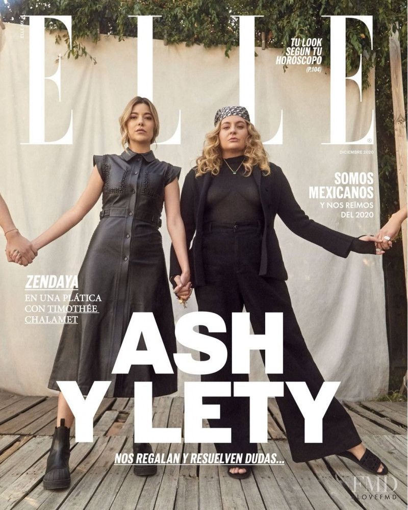 featured on the Elle Mexico cover from December 2020
