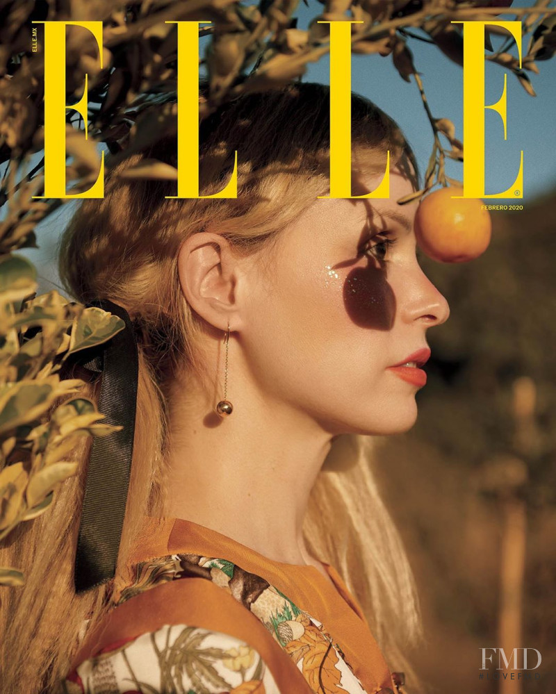 Petite Meller featured on the Elle Mexico cover from February 2020