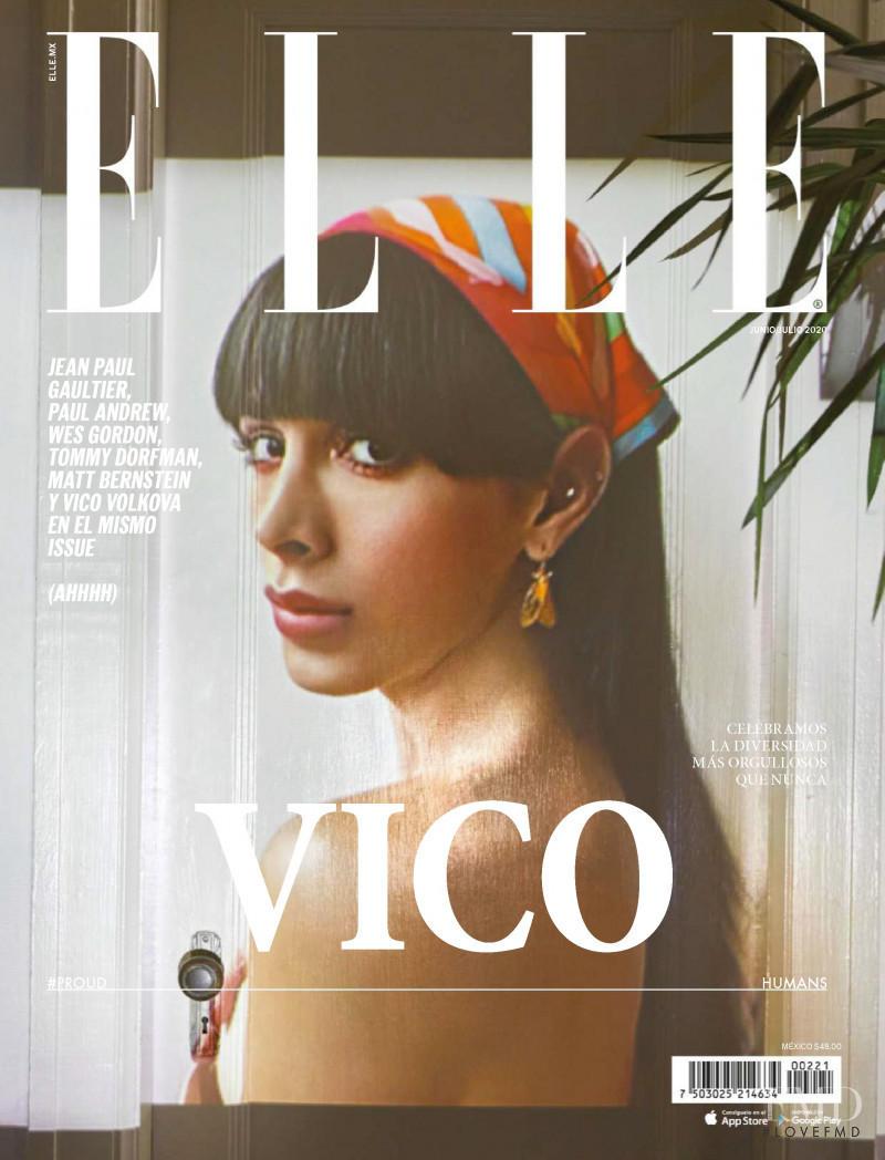 featured on the Elle Mexico cover from June 2020
