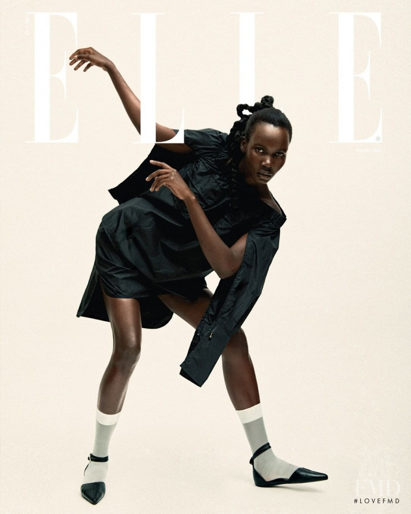 featured on the Elle Mexico cover from March 2021