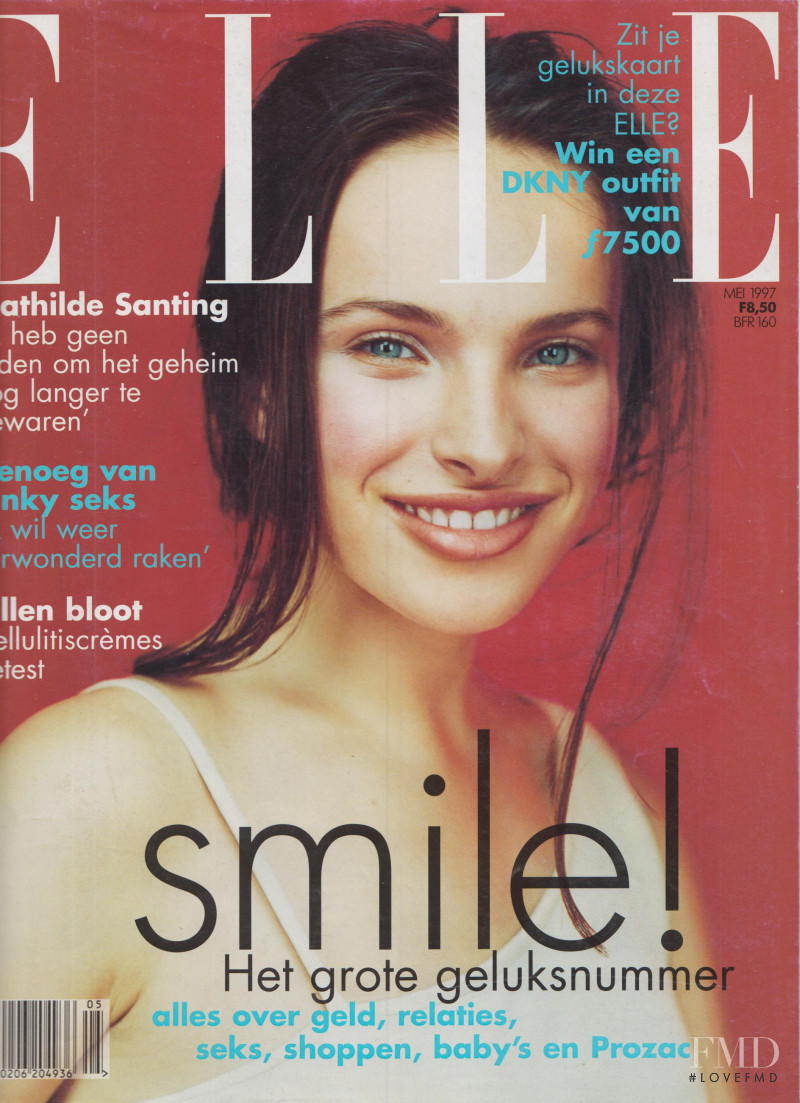 Ljupka Gojic featured on the Elle Netherlands cover from May 1997