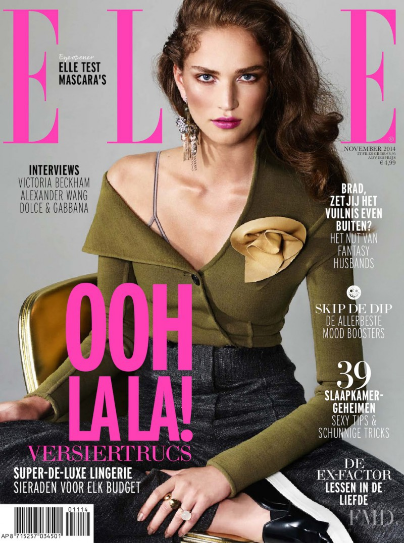 Valentine Bouquet featured on the Elle Netherlands cover from November 2014