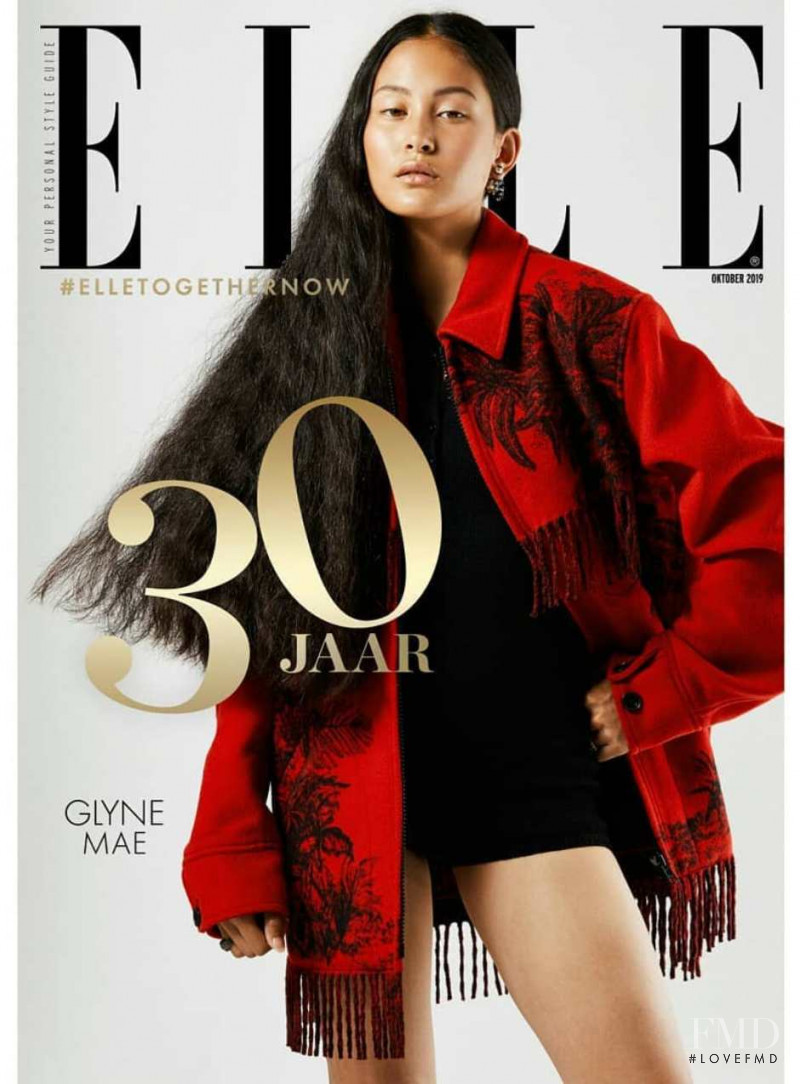 featured on the Elle Netherlands cover from October 2019