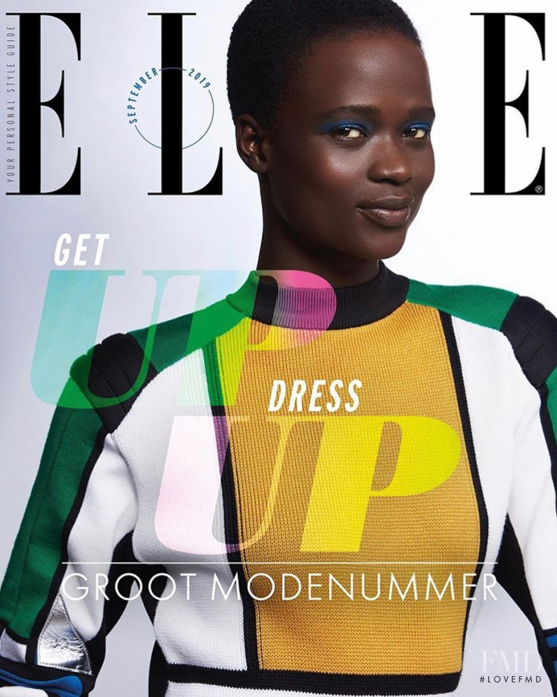 featured on the Elle Netherlands cover from September 2019