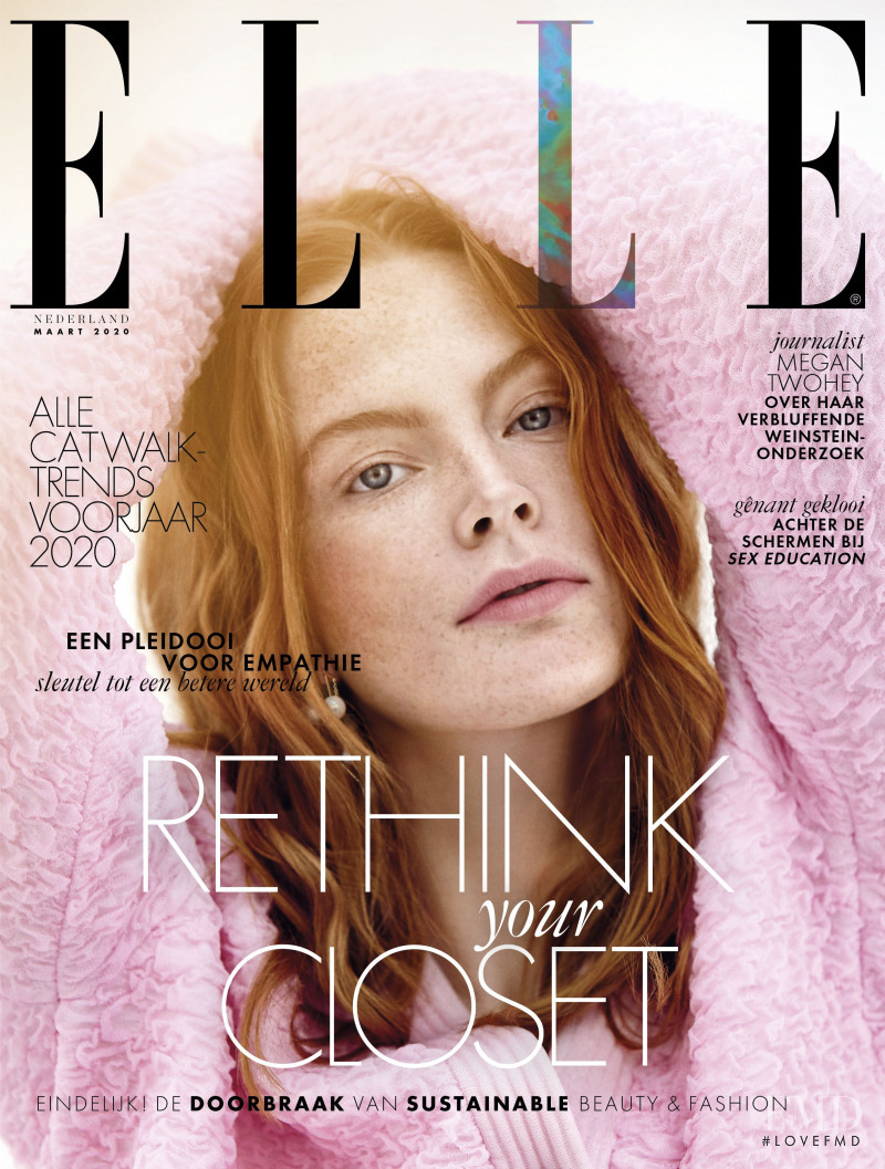 featured on the Elle Netherlands cover from March 2020