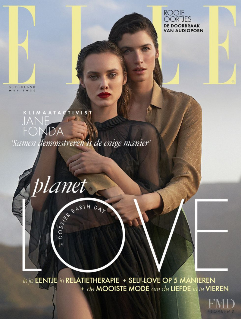 featured on the Elle Netherlands cover from May 2020