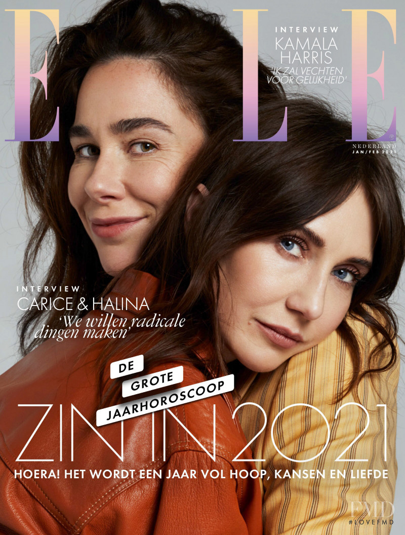 featured on the Elle Netherlands cover from February 2021