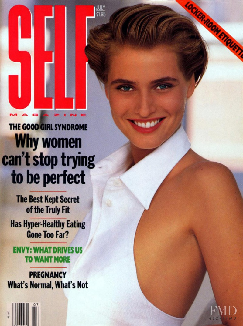 Cathy Fedoruk featured on the SELF cover from July 1989