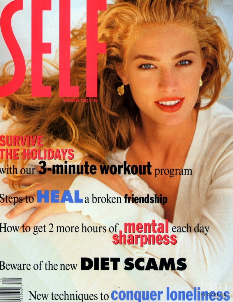 Elaine Irwin Mellencamp featured on the SELF cover from December 1992