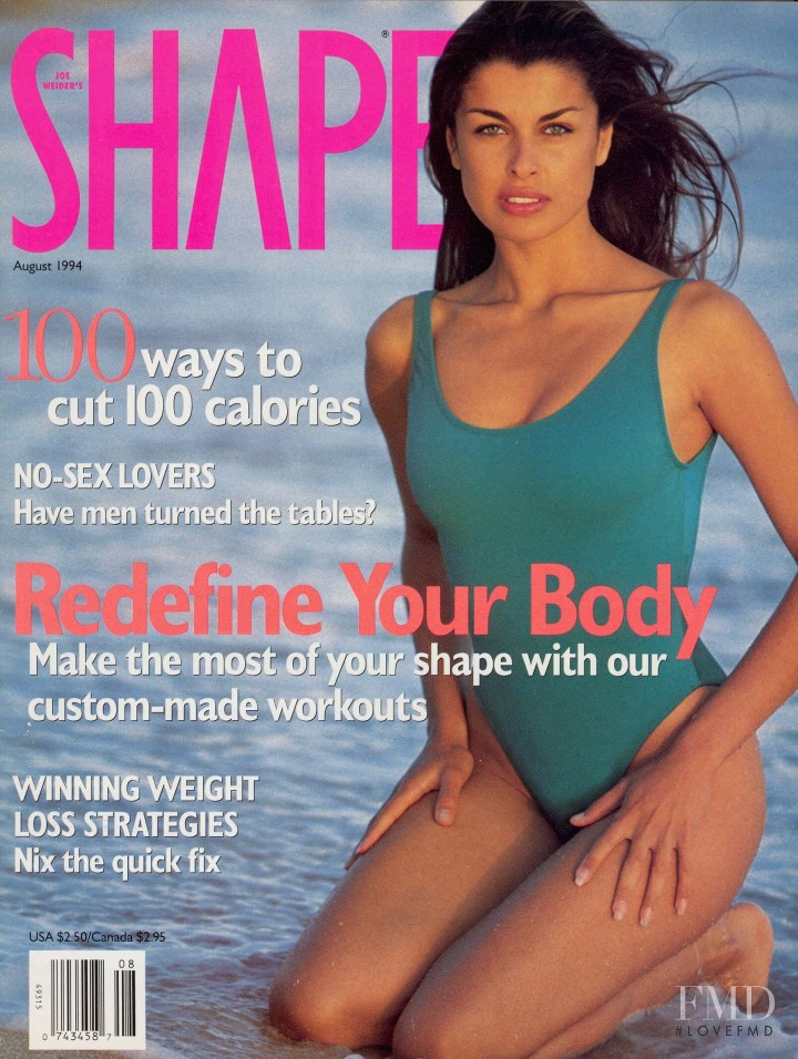 Wendy Both featured on the SELF cover from August 1994