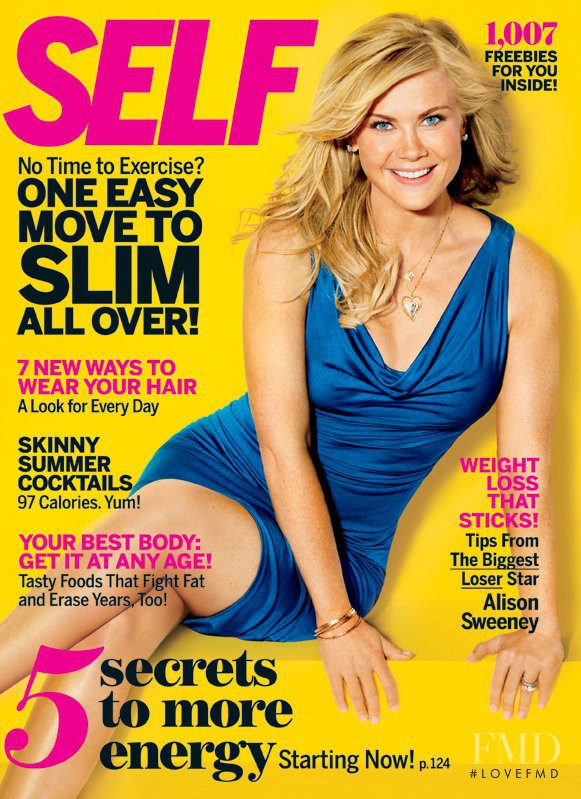 Alison Sweeney featured on the SELF cover from August 2011