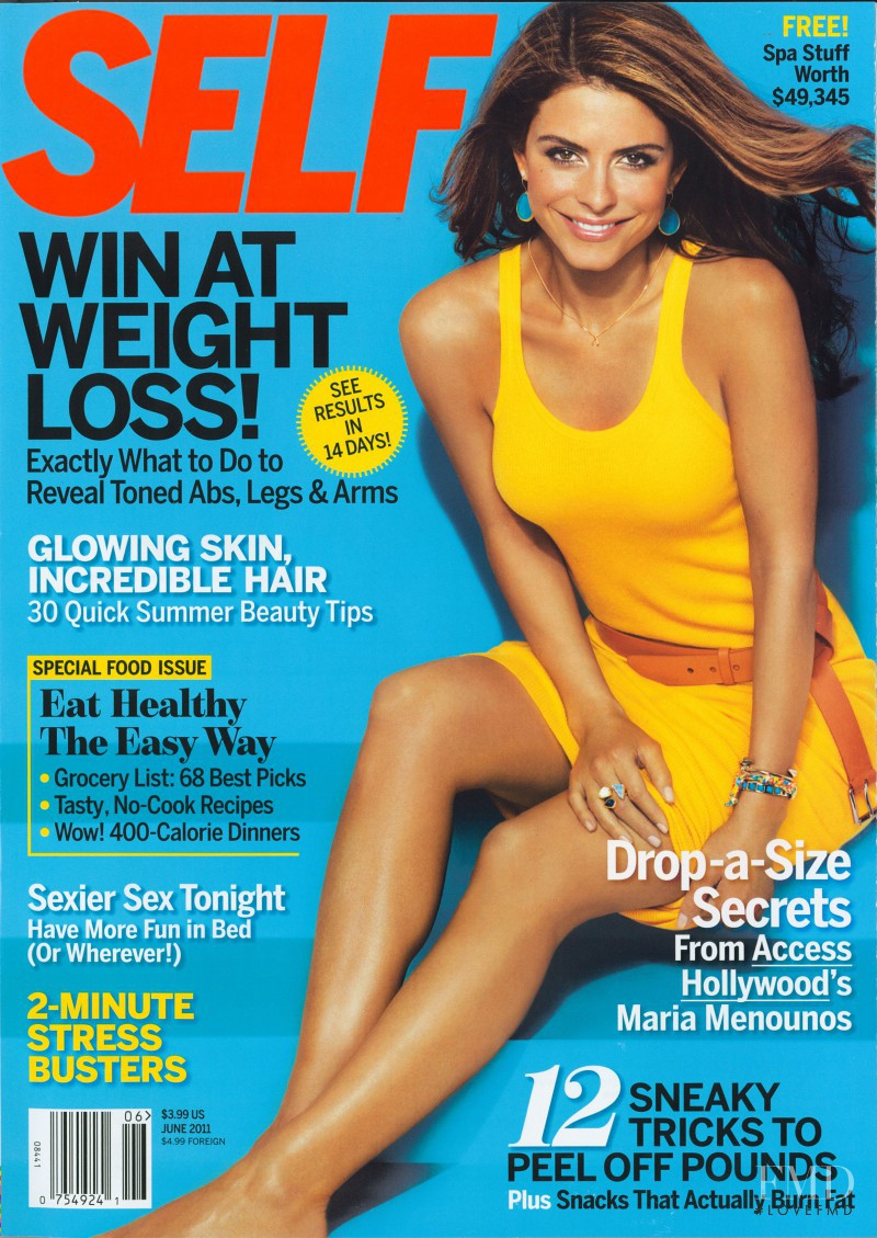 featured on the SELF cover from June 2011