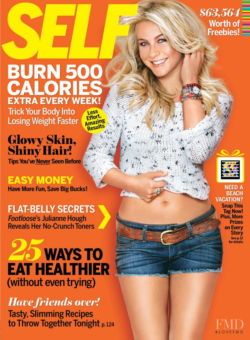 Julianne Hough featured on the SELF cover from November 2011