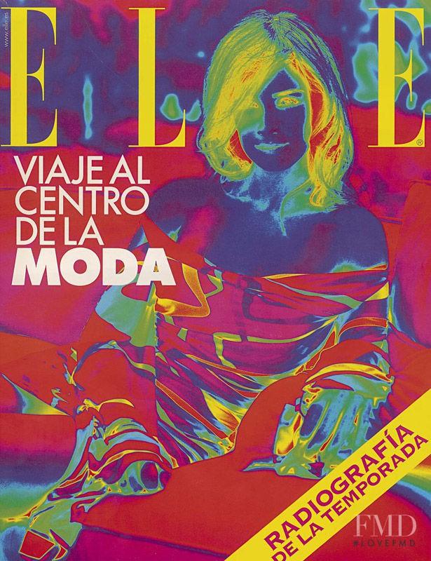 Paz Vega featured on the Elle Spain cover from September 2003