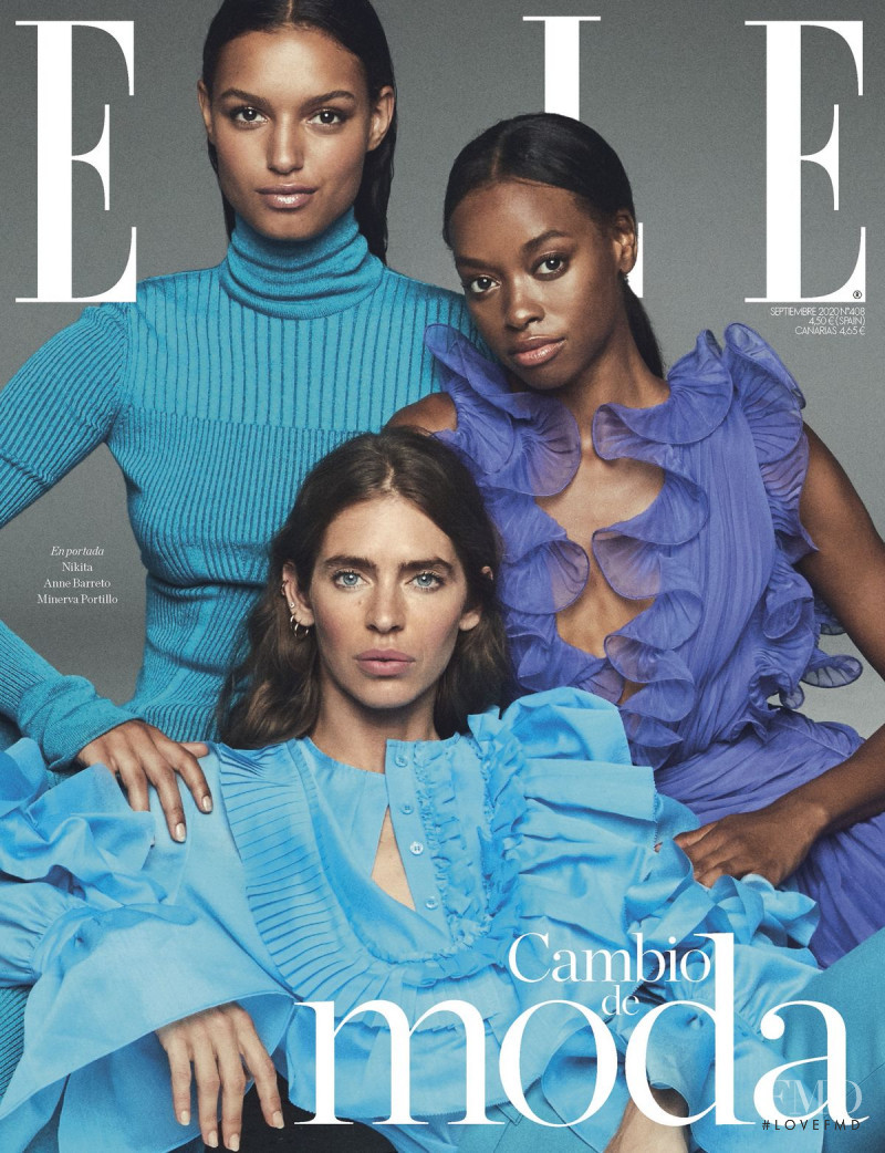 Minerva Portillo, Anne Barreto featured on the Elle Spain cover from September 2020