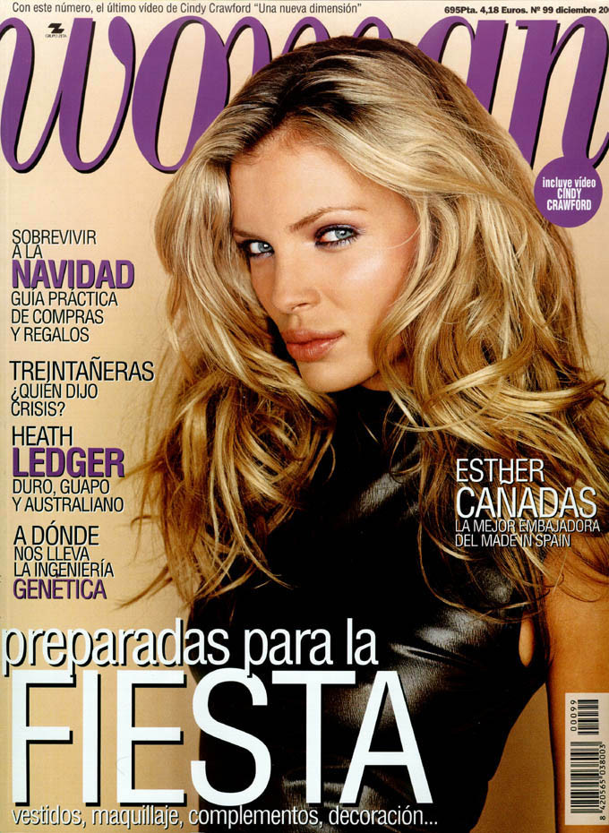 Photo of model Esther Cañadas - ID 293891