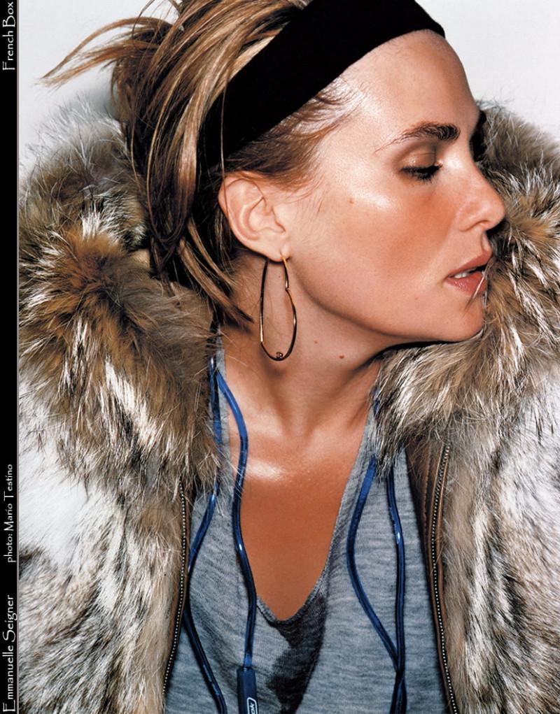 Photo of model Emmanuelle Seigner - ID 131338