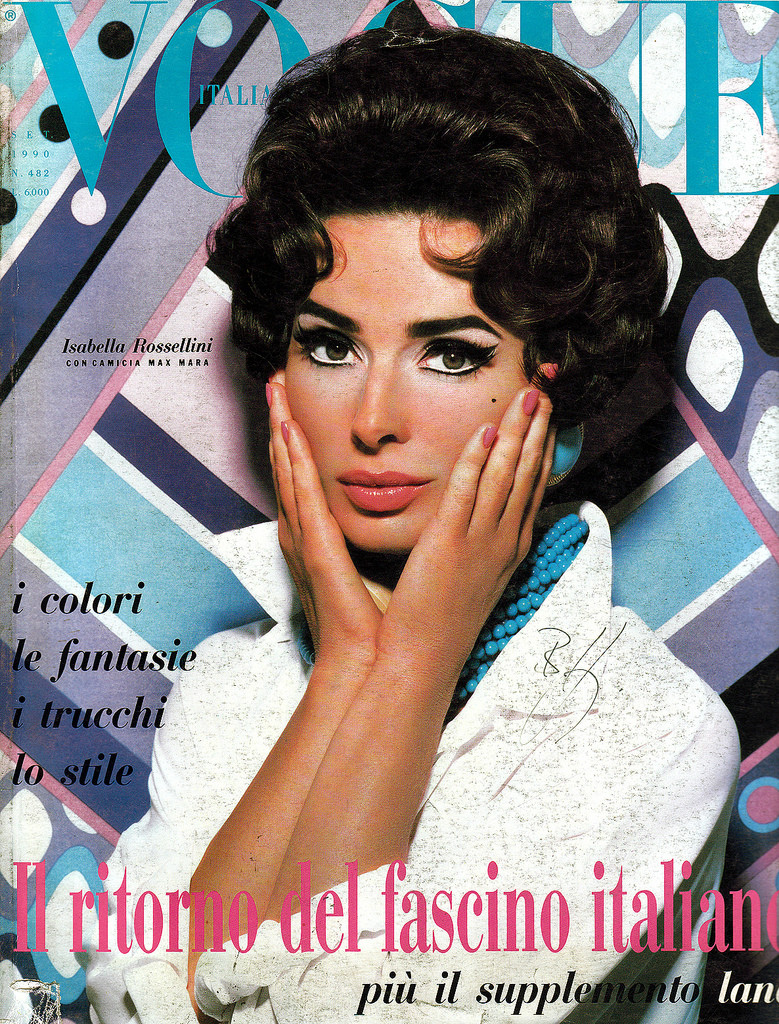 Photo of fashion model Isabella Rossellini - ID 180147 ...