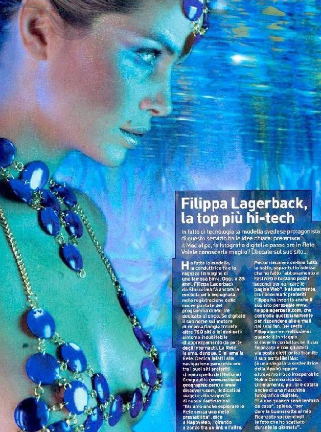 Photo of model Filippa Lagerbäck - ID 87051