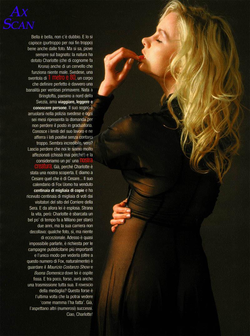 Photo of model Charlotte Krona - ID 87366