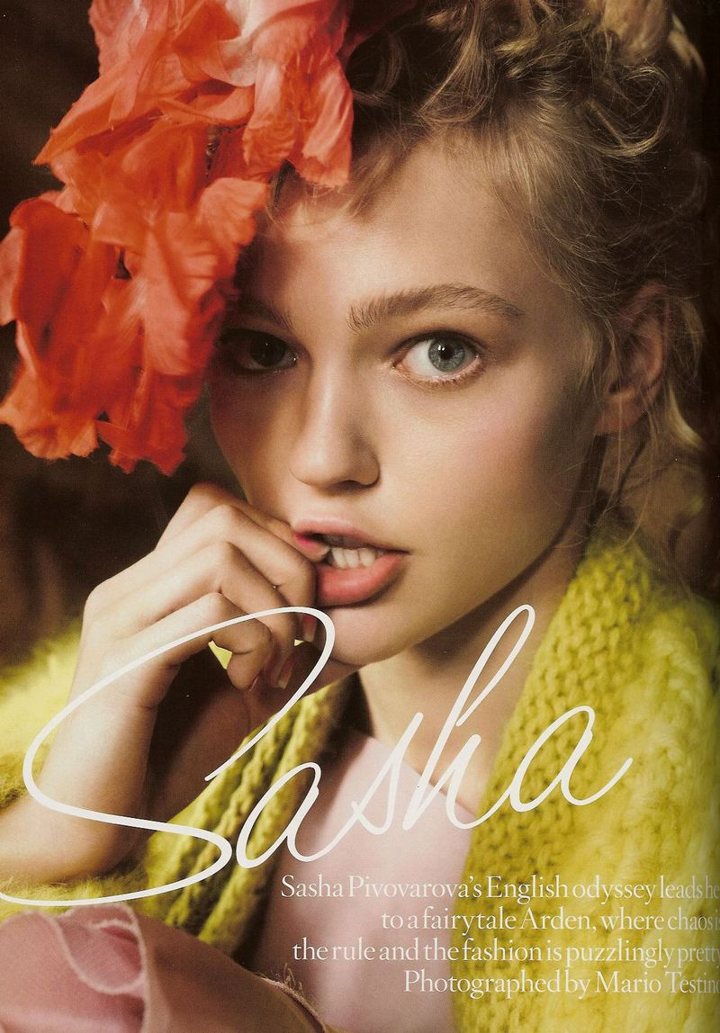 Photo of model Sasha Pivovarova - ID 118081