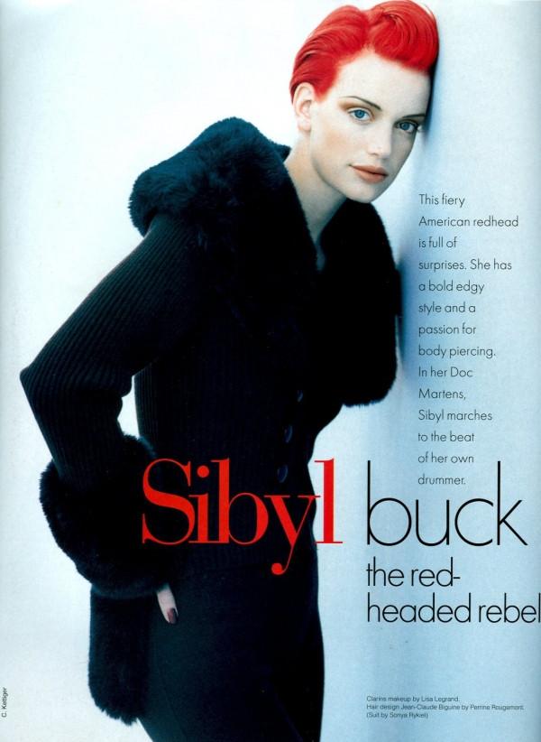 Photo of model Sibyl Buck - ID 548468