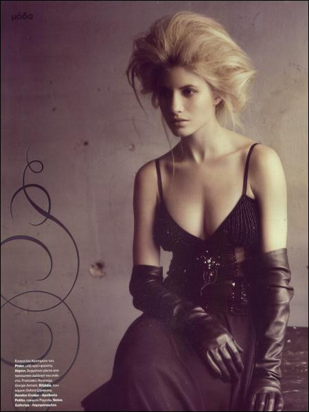Photo of model Evangelia Aravani - ID 75213