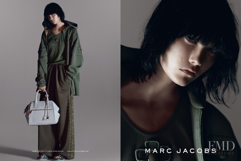 Karlie Kloss featured in  the Marc Jacobs advertisement for Spring/Summer 2015