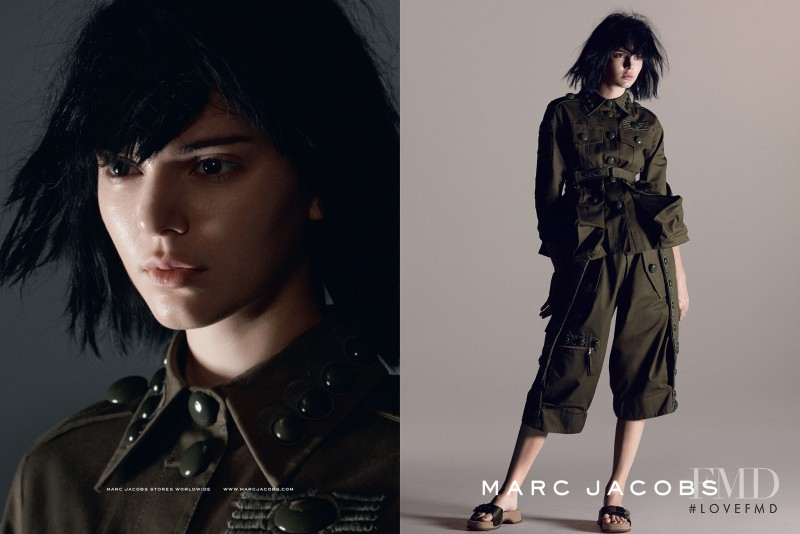 Kendall Jenner featured in  the Marc Jacobs advertisement for Spring/Summer 2015