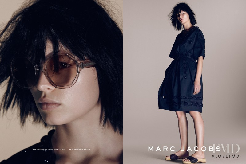 Anna Ewers featured in  the Marc Jacobs advertisement for Spring/Summer 2015