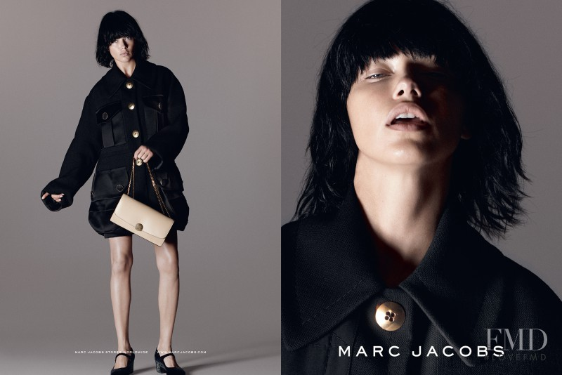 Adriana Lima featured in  the Marc Jacobs advertisement for Spring/Summer 2015