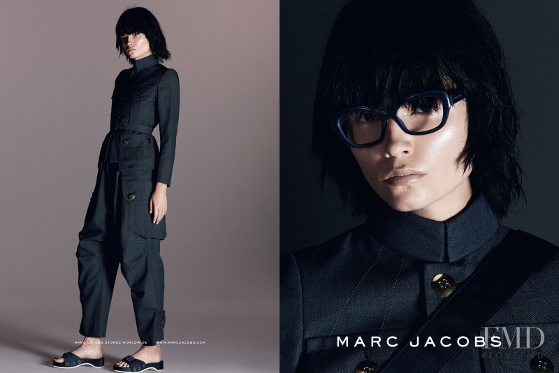 Natasha Poly featured in  the Marc Jacobs advertisement for Spring/Summer 2015