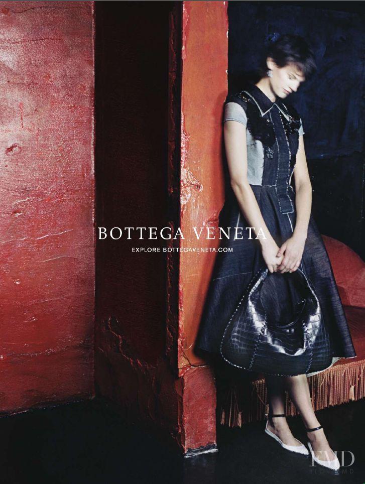 Saskia de Brauw featured in  the Bottega Veneta advertisement for Spring/Summer 2015