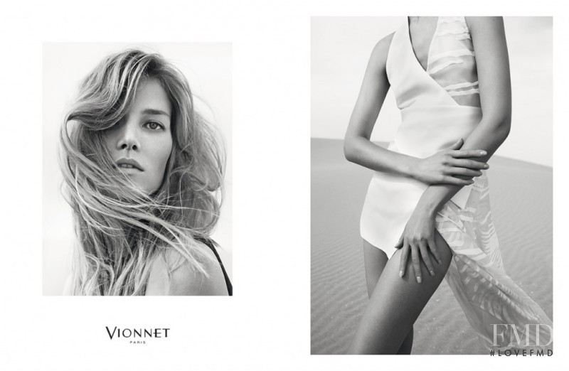 Suvi Koponen featured in  the Vionnet advertisement for Spring/Summer 2015