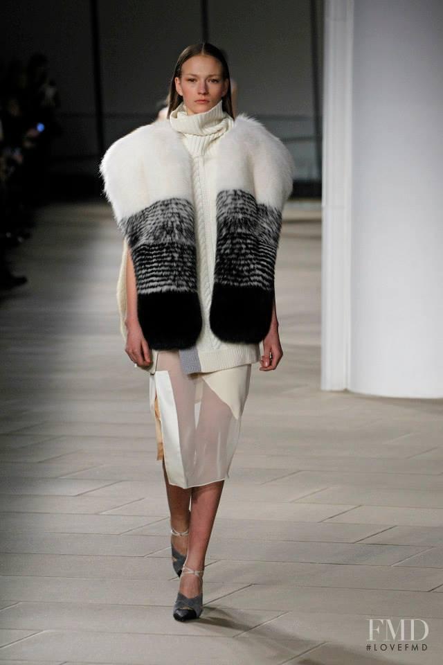 Sophia Ahrens featured in  the Prabal Gurung fashion show for Autumn/Winter 2015