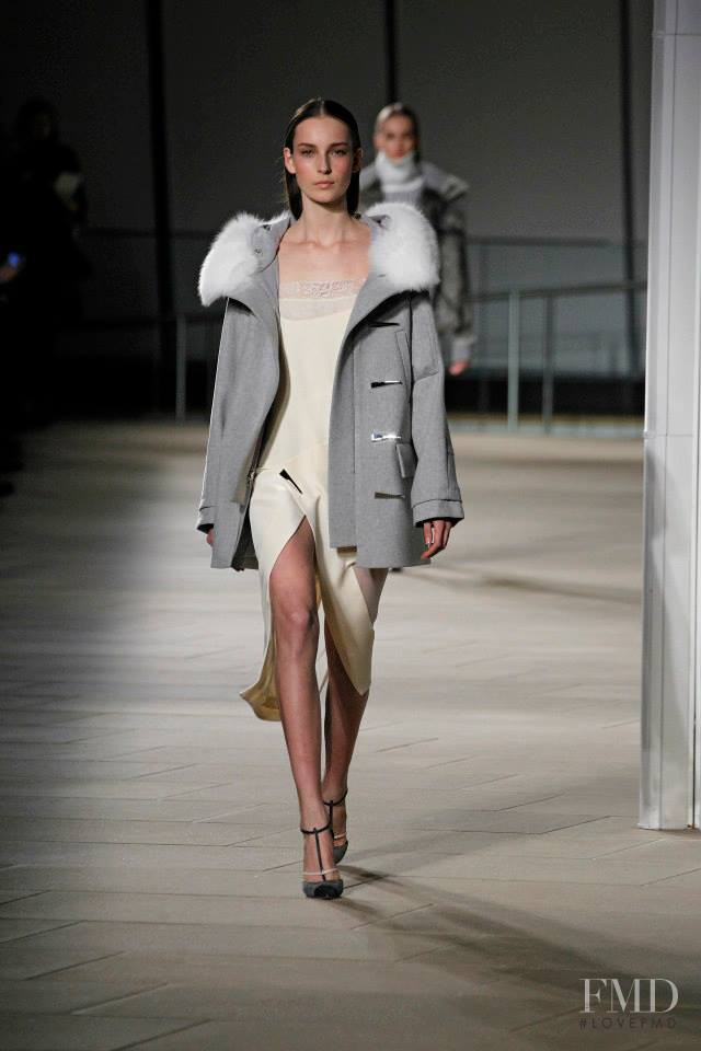 Julia Bergshoeff featured in  the Prabal Gurung fashion show for Autumn/Winter 2015