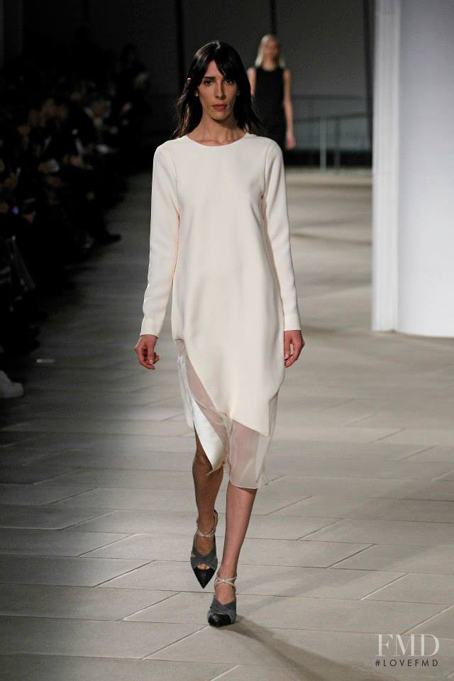 Jamie Bochert featured in  the Prabal Gurung fashion show for Autumn/Winter 2015