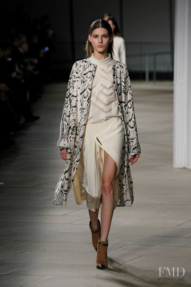 Valery Kaufman featured in  the Prabal Gurung fashion show for Autumn/Winter 2015