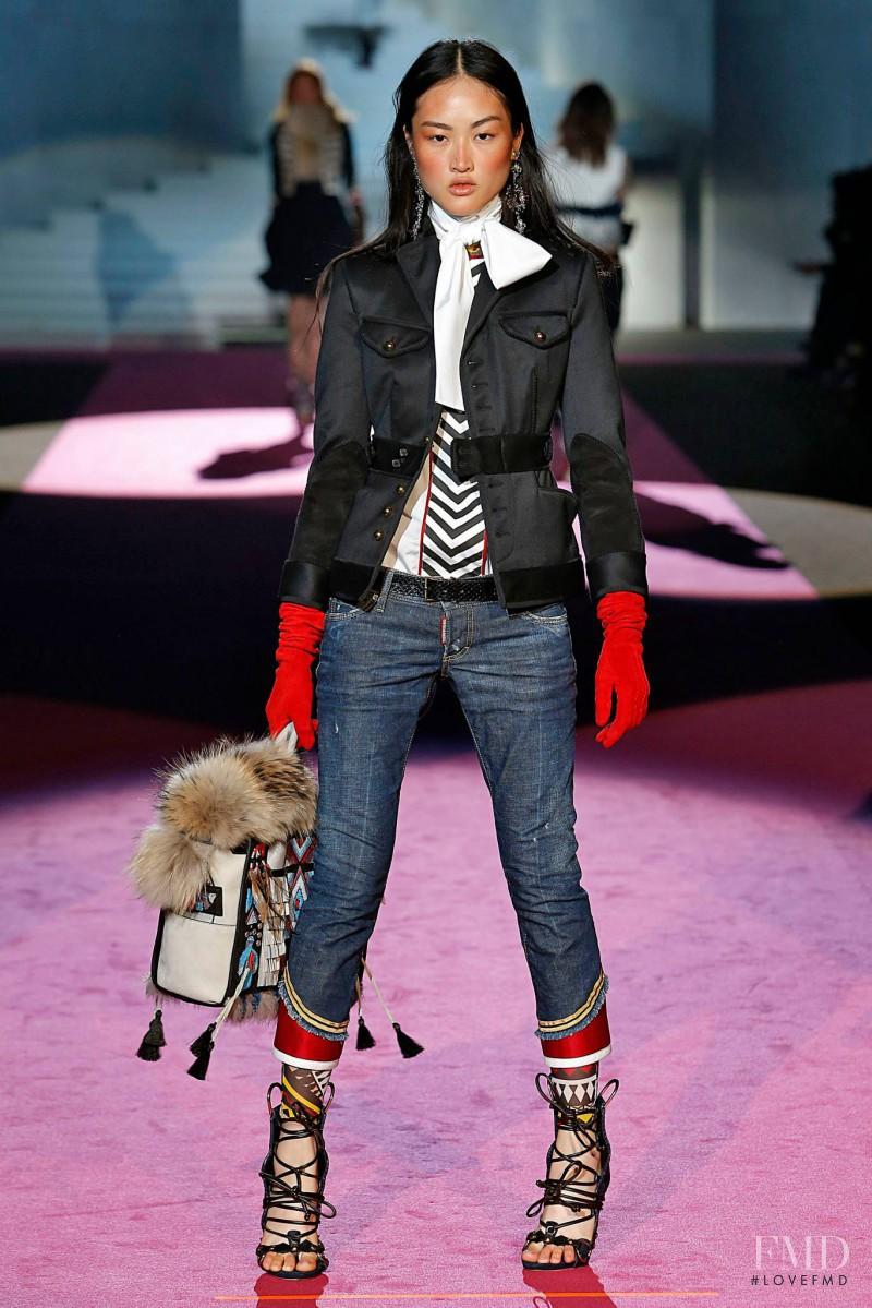 DSquared2 fashion show for Autumn/Winter 2015