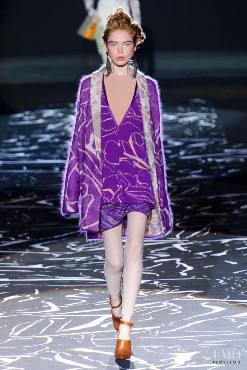 Missoni fashion show for Autumn/Winter 2015