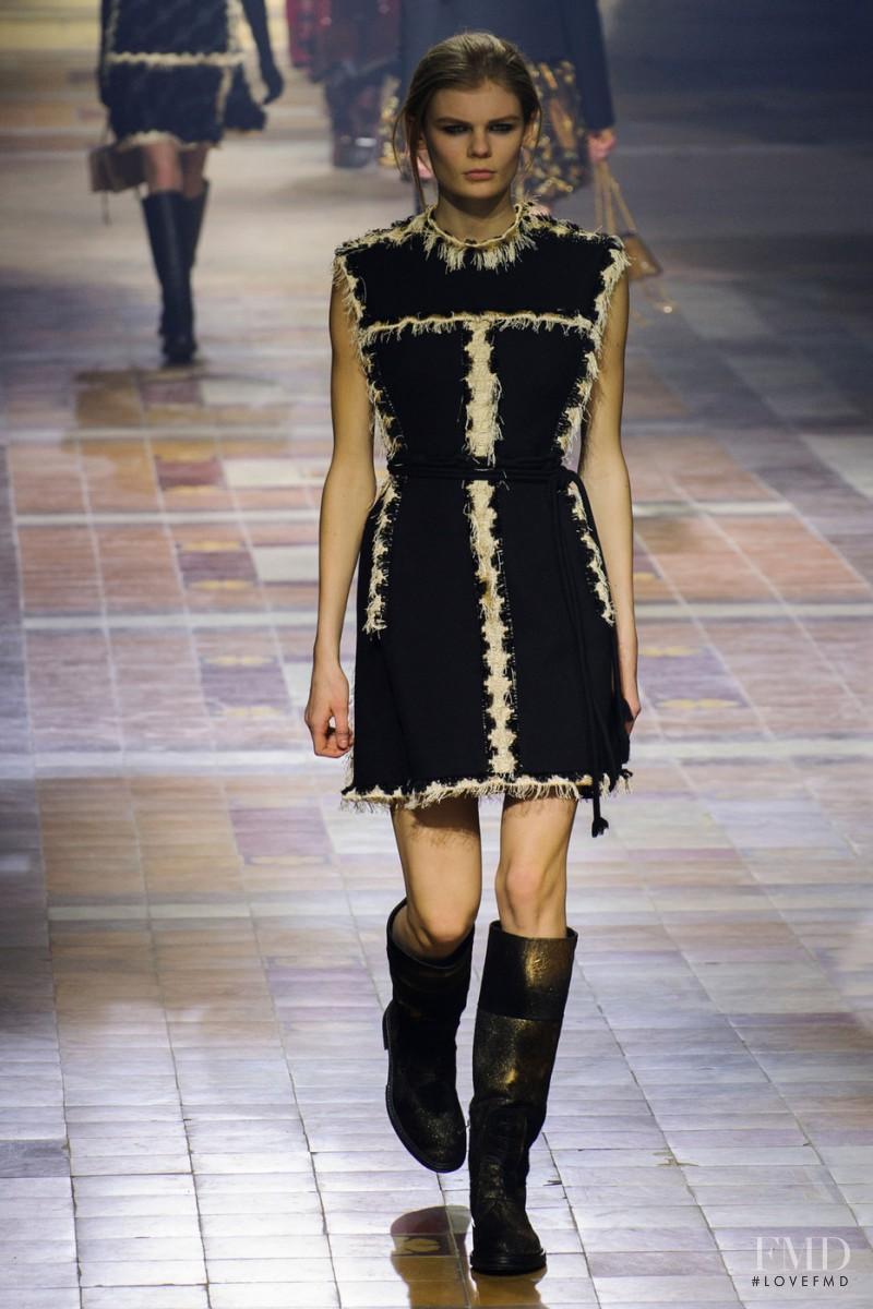 Alexandra Elizabeth Ljadov featured in  the Lanvin fashion show for Autumn/Winter 2015