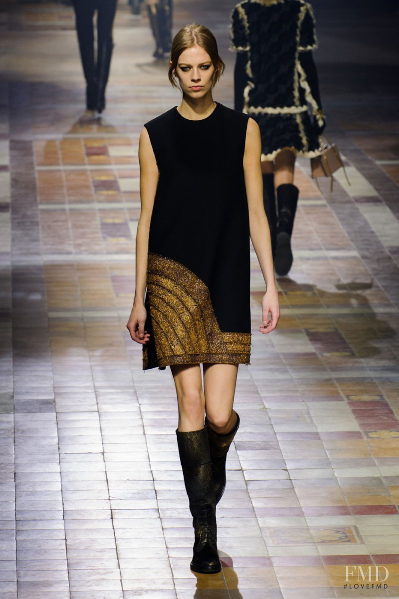 Lexi Boling featured in  the Lanvin fashion show for Autumn/Winter 2015