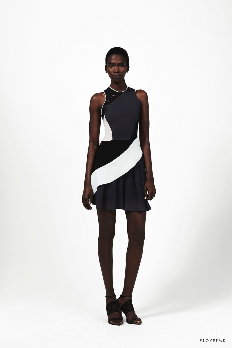 Aamito Stacie Lagum featured in  the Jonathan Simkhai fashion show for Pre-Fall 2015