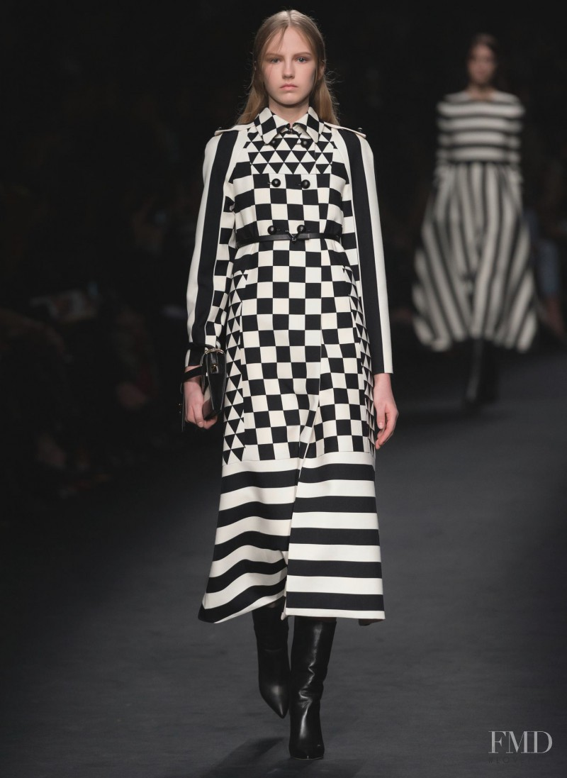 Paula Galecka featured in  the Valentino fashion show for Autumn/Winter 2015