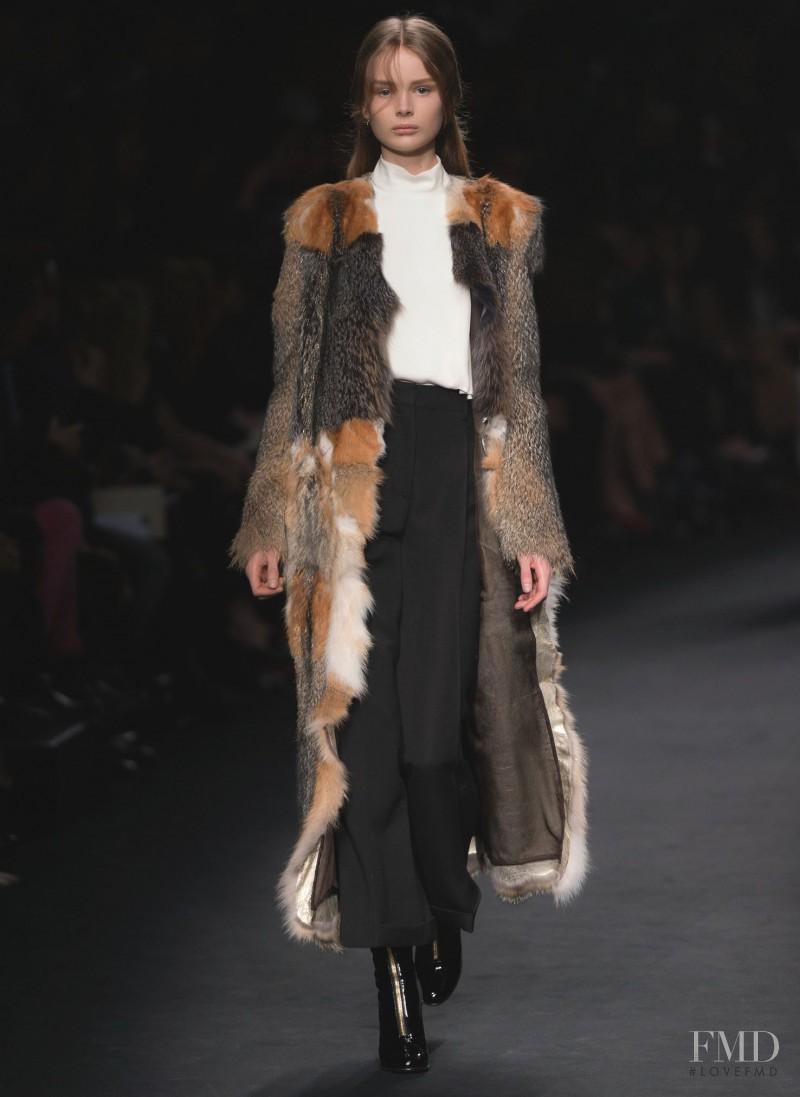 Tuva Alfredsson Mellbert featured in  the Valentino fashion show for Autumn/Winter 2015