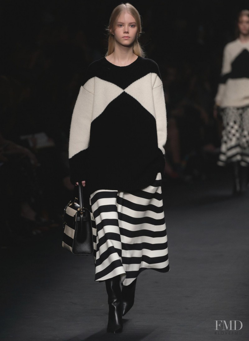 Amalie Schmidt featured in  the Valentino fashion show for Autumn/Winter 2015