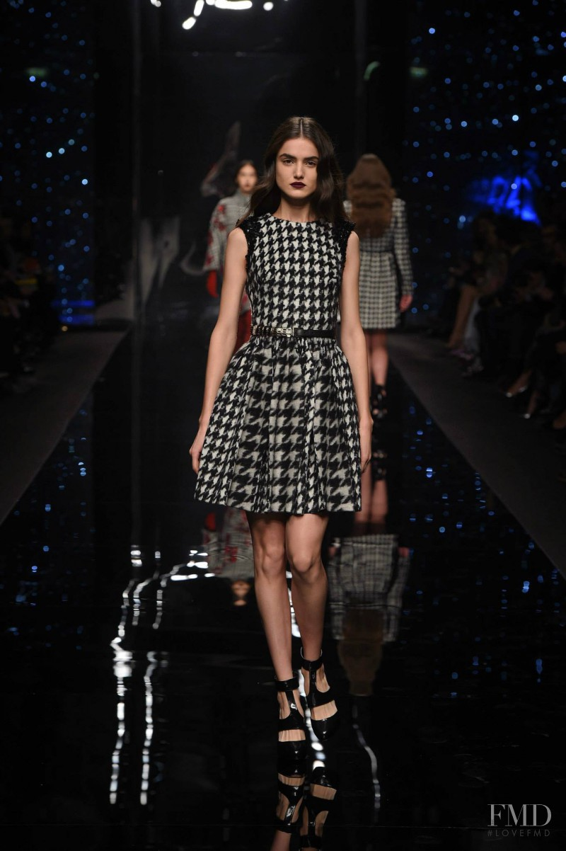 Blanca Padilla featured in  the Ermanno Scervino fashion show for Autumn/Winter 2015
