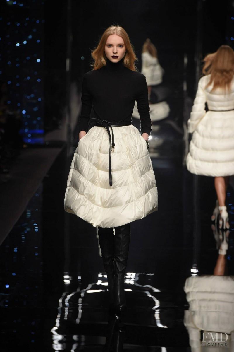 Kimi Nastya Zhidkova featured in  the Ermanno Scervino fashion show for Autumn/Winter 2015