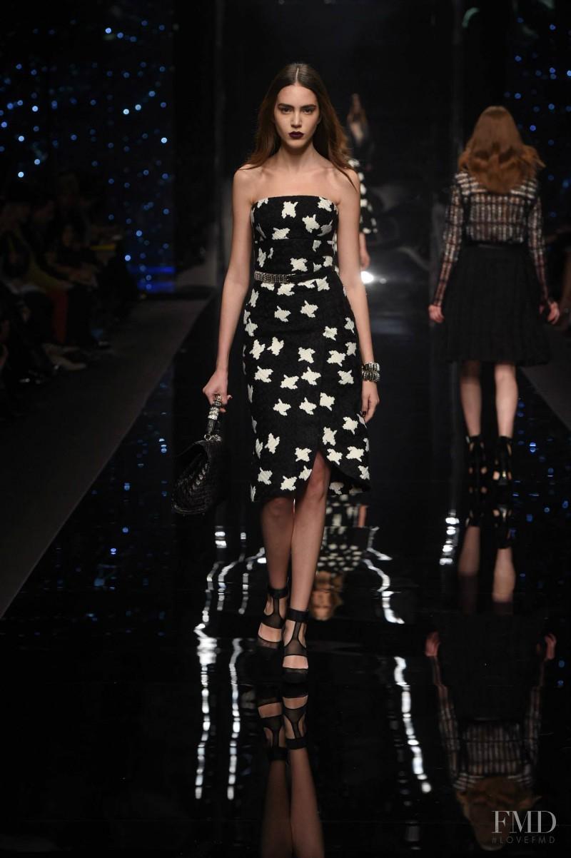 Tako Natsvlishvili featured in  the Ermanno Scervino fashion show for Autumn/Winter 2015