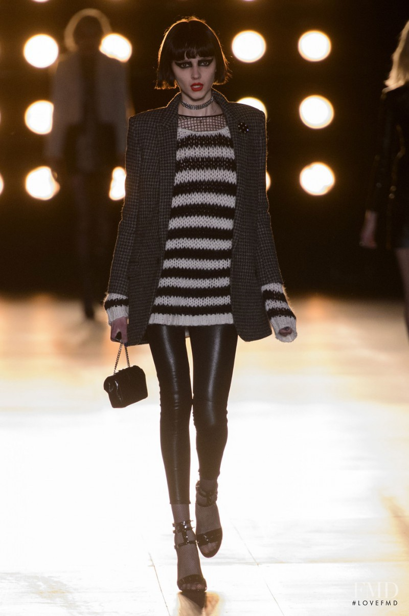 Saint Laurent fashion show for Autumn/Winter 2015